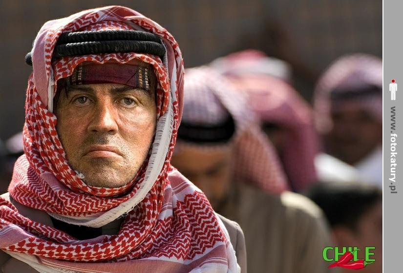 Fotokatura z Sylvester Stallone
