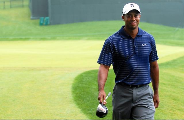 Tiger Woods - legalne zdjęcie