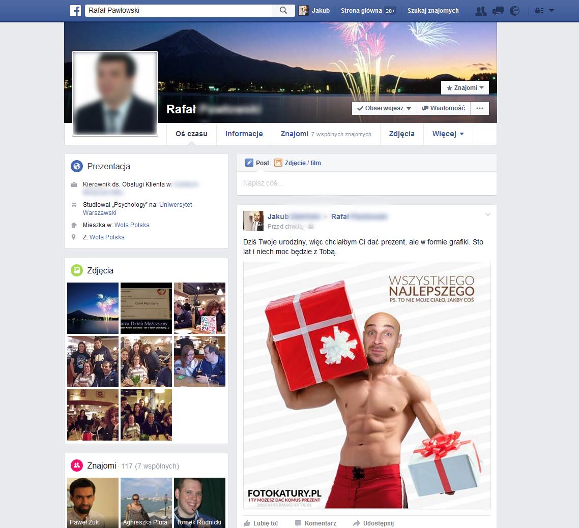 prezent - facebook