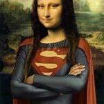 Mona Lisa - Superman