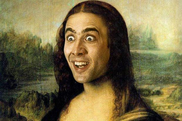 Mona Lisa - Nicolas Cage