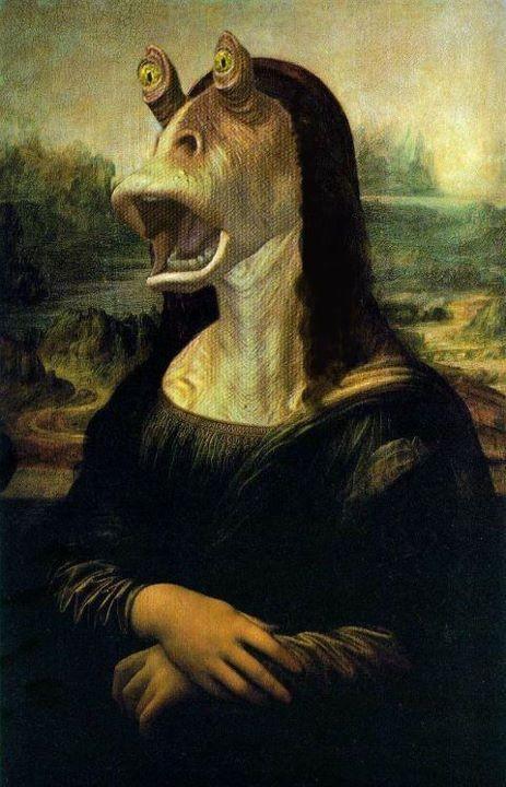 Mona Lisa - Jar - Gwiezdne Wojny