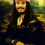 Mona Lisa - Jack Sparrow