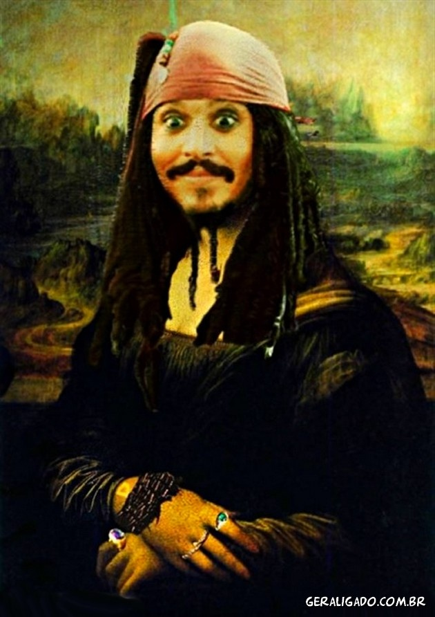 Mona Lisa - Jack Sparrow