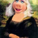 Mona Lisa - świnka piggy