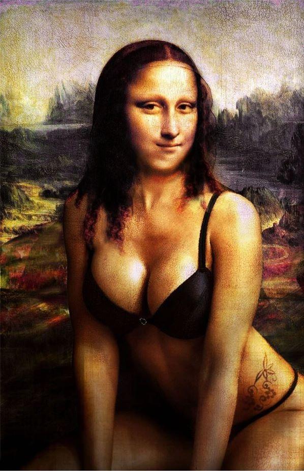 Mona Lisa - laska seksi